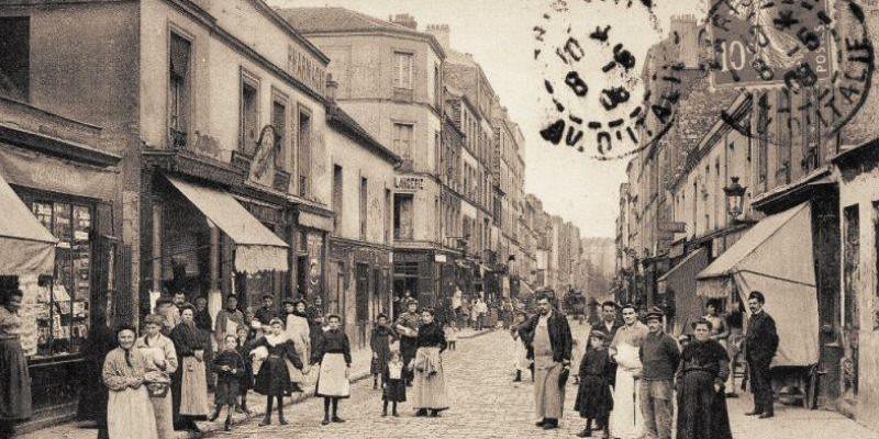 Rues de Paris d'hier à aujourd'hui : rue des Cinq Diamants, Paris XIII