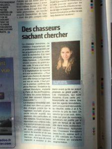 Le Parisien Spécial Immobilier_Homelyoo_FNCI_chasseur