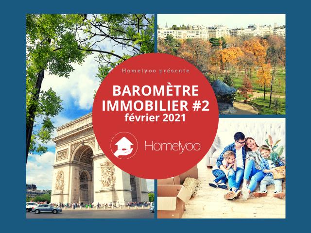Baromètre immobilier Homelyoo_février 2021