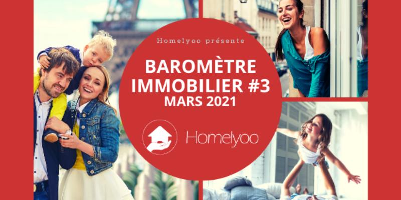 Baromètre immobilier Homelyoo : les prix stagnent à Paris et les maisons décollent dans les Hauts-de-Seine, en mars.