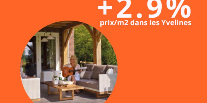 Immobilier : la valeur des Yvelines continue de grimper !